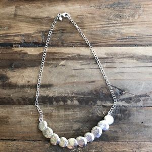 Silpada Sterling Silver Disc Necklace